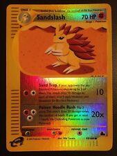 Pokemon!! Sandamer Skyridge 93/144! Reverse Holo Common! Near Mint! EN!