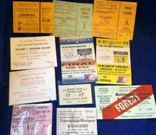 10 RARE BIG MATCH TICKETS (1968 to 1999) YOU CHOOSE