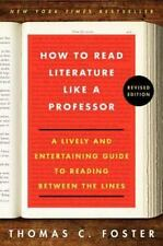 How to Read Literature Like a Professor Revised-New-Unread-Free Shipping-