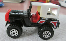 1981 Matchbox Black 4x4 Jeep Laredo w/Removable Hard Top 1:59 (MINT)
