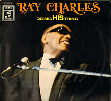 """RAY CHARLES """"DOING HIS THING"""" SOUL JERK 60'S LP COLUMBIA 1C 062-90406"""