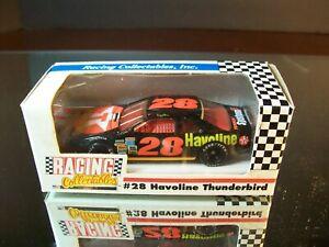Davey Allison #28 Texaco Havoline 1991 Ford Thunderbird RCCA 1:64