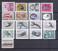 Österreich postfrisch Jahrgang 1963 siehe Bild
