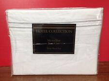 Hotel Collection Microfiber Easy Care Twin Sheet Set