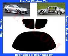 Pre Cut Window Tint Mazda RX-8 4D 2003-2008 Rear Window & Rear Sides Any Shade