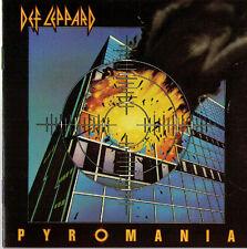 Pyromania Def Leppard CD early pressing made in W. Germany Vertigo Photograph