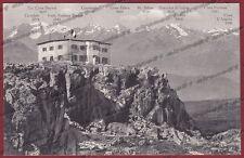 BOLZANO BOZEN RENON 26 RITTEN RITTNERHORN RIFUGIO MONTAGNA Cartolina 1919