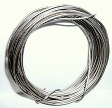 TITANIUM metal ~ **ASTM CP Grade 1**  WIRE~ 1mm diameter x 5 metres length