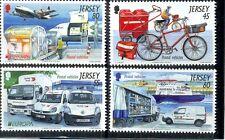 Jersey -Vehicles-new issue 2013 mnh set(4)-Cars-Vans-Aircraft etc