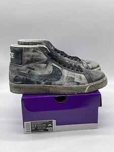 "Nike SB Blazer ""Faded Black"" Size 11.5 DS OG ALL DA1839-001"