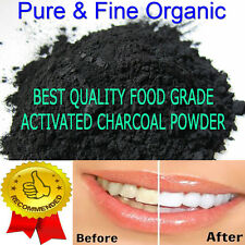 Activated Charcoal Powder Organic Coconut Carbon - 1lb bulk (450g)