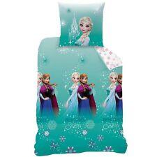 Linón Niños Ropa de cama 135/200+80/80 Frozen la reina NUEVO - Azul Sparkle
