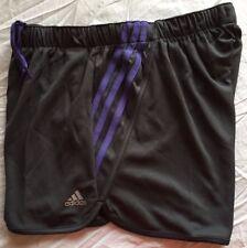 5068c88c86af6 ADIDAS Ultimate 3S ClimaLite Pantalones Cortos De Mujer De Punto Medio M  (Gris morado) Nuevo con etiquetas
