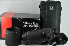 Sigma EX APO Macro DG HSM 180mm Lens for Nikon D600 D50 D100 D200 D90 D3