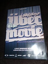 All Region DVD Isenseven UBER MOVIE Snowboard A 16 BIT MOVIE FILM Vincent Urban