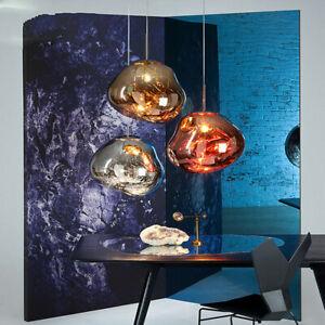 New Modern Melt Pendant Light Suspension Lamp Living Room Bedroom Restaurant