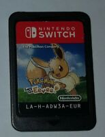 _( Pokemon Let's Go Eevee x Console Nintendo Switch & Lite PAL EUR no Pikachu )_