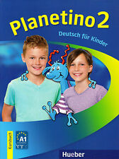Hueber PLANETINO 2 Kursbuch DEUTSCH FUR KINDER German for Children @NEW@