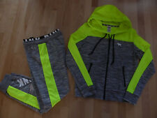Victoria's Secret Pink Perfect Full Zip Hoodie and Gym Pants set, size M