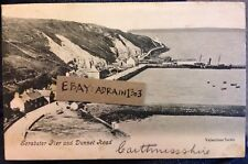 SCRABSTER PIER DUNNET HEAD c1905 PC Valentines Posted To Methwold Norfolk