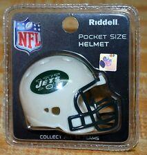 """NEW RIDDELL NFL NEW YORK JETS POCKET HELMET 2 1/4"""" SEALED & BRAND NEW"""