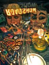 Old Photo.  Close-up ROADSHOW Pinball Machine