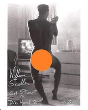 Die Hard 2 Autograph 8x10 Photo William Sadler/Col. Stuart (LHAU-1029)