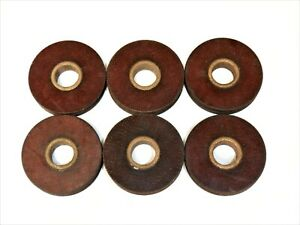 LOT OF 6 AIRCRAFT  PULLEYS  1.25 in OD .75 in ID