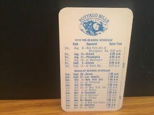 1970 Buffalo Bills schedule.O 'Keeffe.