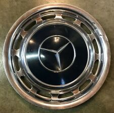 1969 - 1983 Mercedes Benz 240D 450 SEL 300 Series Blue Hubcap Wheel Cover