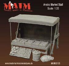 Escala 1/35 Arabian puesto del mercado Resin Model Kit-Norte De África Accesorio