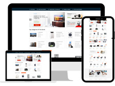 Electronic Store Amazon Business Affiliate Complete Website