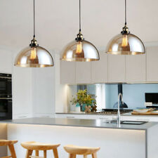 3X Modern Pendant Light Shop Glass Ceiling Lights Kitchen Chandelier Lighting