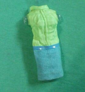 Vintage Barbie Clothes - MOD Era Julia 1752 Brrr-Furrr Blue Dress