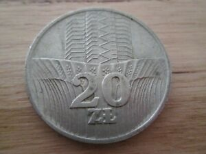 POLAND 20 ZLOTYCH 1973 Coin - Choice Coin - VG Circulated - Free Postage