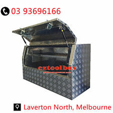 Toolbox Aluminium Tool Box Half Side Opening Ute Truck Trailer 900x550x800mm