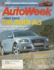 AUTOWEEK 2004 AUG 30 - 430 MODENA, 3000mph, AUDI A3 & S4, LENOs FORD GT & SLR