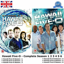 Hawaii Five-O - Season 1-6 Complete Collection 1 2 3 4 5 6 + Bonus Features DVD