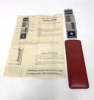 Vintage Arithma Addiator w/ Instructions & Case Sleeve