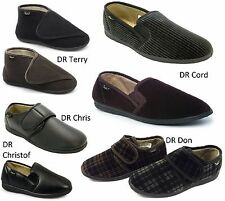 Mens Memory Foam Mule Slip on Slippers Shoes by DR KELLER Size 6,7,8,9,10,11,12