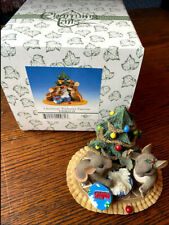 Charming Tails - Christmas Treasures Figurine 97/19 - Fitz & Floyd ~ In Box
