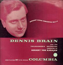 Mozart (Vinile LP) CONCERTI PER CORNO 1-4 Dennis CERVELLO/Karajan-COLUMBIA - 33CX 1-In buonissima condizione/In buonissima condizione+