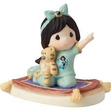New PRECIOUS MOMENTS DISNEY Figurine JASMINE PRINCESS Statue ALADDIN TIGGER GIRL