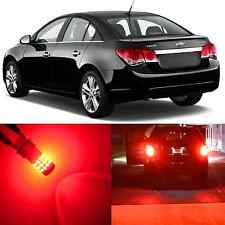 Alla Lighting Rear Turn Signal Light 3157 Red 12V LED Bulb for 12~17 Chevy Sonic