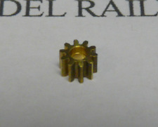 Hornby H1 Brass 10T Pinion Gear For 5-Pole Ringfield Motors