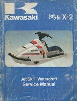 1986 KAWASAKI JET SKI  X-2  SERVICE MANUAL 99924-1069-01 (652)
