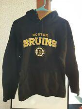 Boston Bruins Reebok Faceoff Collection Hooded Sweatshirt Mens Medium