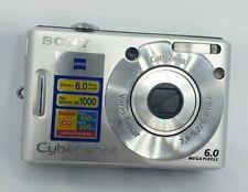 Sony Cyber-shot DSC-W30 6.0MP Digital Camera - Silver (READ DESCRIPTION)