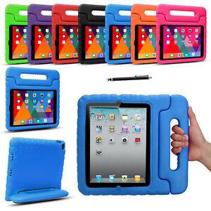 Kids Shockproof Case Cover EVA Foam Stand For Apple iPad Pro Mini 1 3 4 iPad 7th