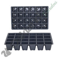 10 X 24 Cell Seed Tray Inserts Full Size Plug Trays Bedding Plant Pack